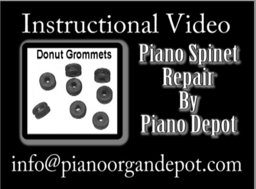 Instructional Video On Repairing Donut Grommets On Spinet Piano