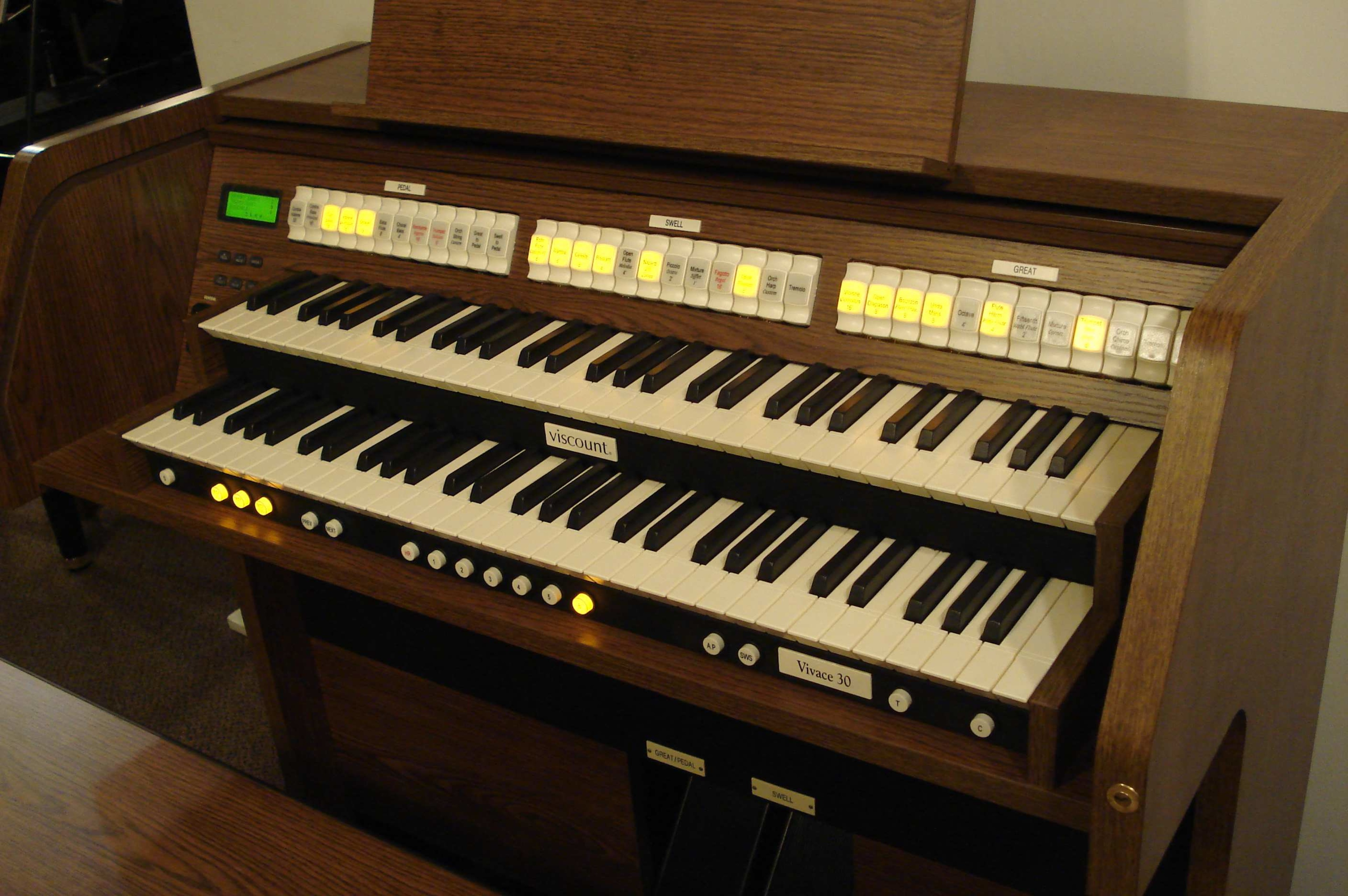 Organ For Sale >> Viscount Vivace 30 Classical Organ For Sale